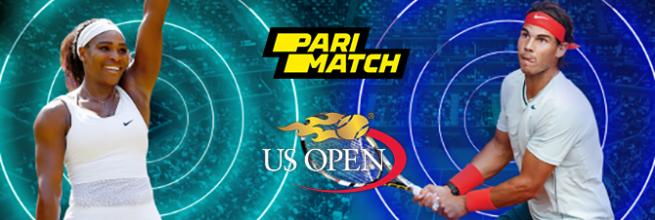 БК Париматч подарит до 11 тысяч рублей за выигрышные ставки на US Open