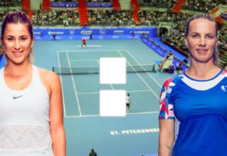Светлана Кузнецова – Белинда Бенчич: онлайн прямой эфир на WTA Санкт-Петербург, 12 февраля 2020 года