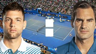 Филип Краинович – Роджер Федерер: онлайн прямой эфир матча на Австралиан Оупен 2020, 22 января 2020 года