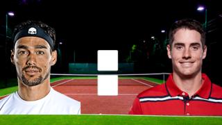 Фабио Фоньини – Джон Изнер: прямой онлайн эфир матча с ATP Cup, 7 января 2020 года