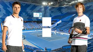 Миомир Кечманович – Андрей Рублев: прямой онлайн эфир матча ATP Доха, 10 января 2020 года