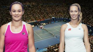 Эшли Барти – Даниэль Коллинз: онлайн прямой эфир матча на WTA Аделаида, 17 января 2020 года