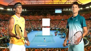 Рафаэль Надаль – Доминик Тим: онлайн прямой эфир матча на Австралиан Оупен 2020, 29 января 2020 года
