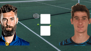Бенуа Пэр – Ллойд Джордж Харрис: прямой онлайн эфир матча с ATP Cup, 8 января 2020 года
