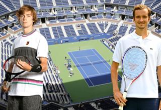 Андрей Рублев – Даниил Медведев: онлайн прямой эфир матча на US Open 2020, 9 сентября 2020 года